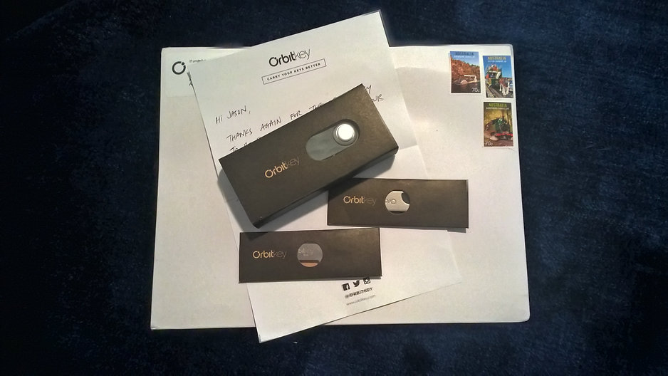 Received my Orbitkey packages