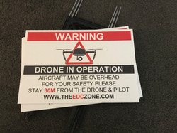 Drone in Operation