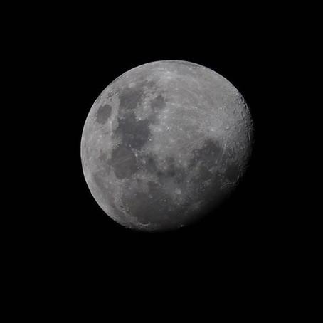 Moon Photography - Canon 6D Mark II
