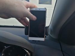 Huawei P8 installed