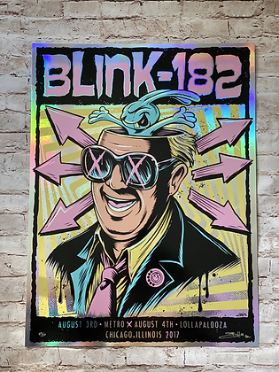 Blink 182, Foil Variant (Brandon Heart)