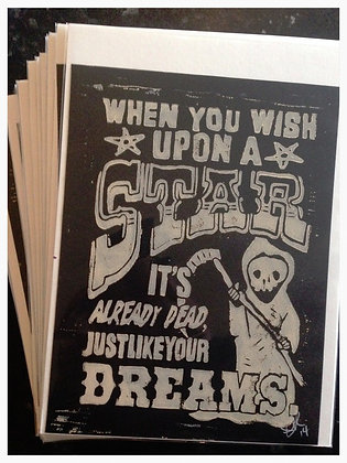 'Dreams' mini print