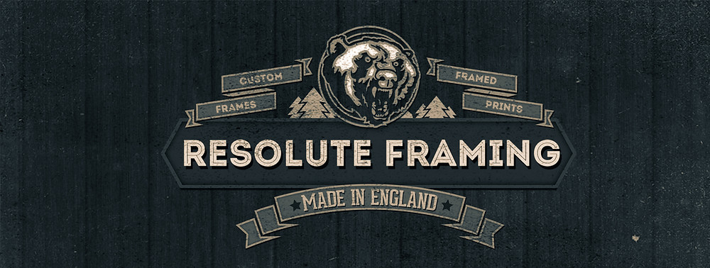 Brand logo of Resolute Framing picture framers in Essex