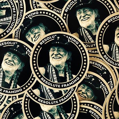 Round Sticker (Willie)