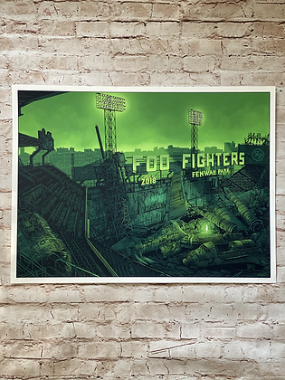 Foo Fighters print set (Daniel Danger)