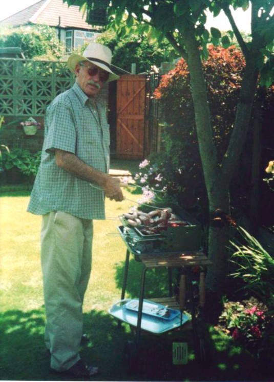 My other hero. My Poppa who always encouraged me to draw, and paint.