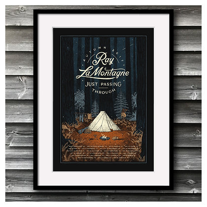 Ray LaMontagne - Just Passing Through Tour
