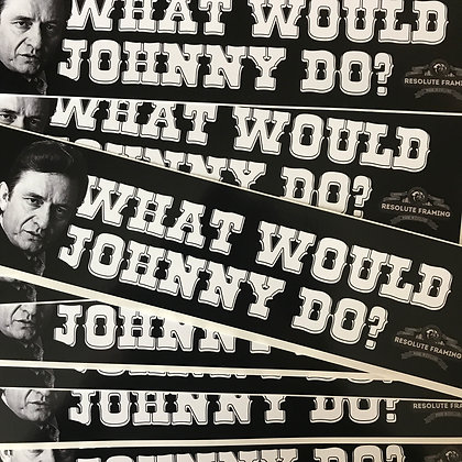 Bumper Sticker (Johnny)