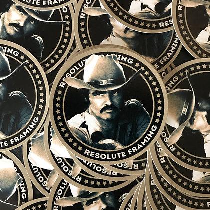 Round Sticker (Burt)