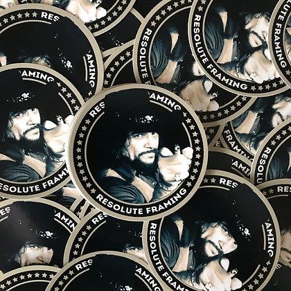Round Sticker (Waylon)