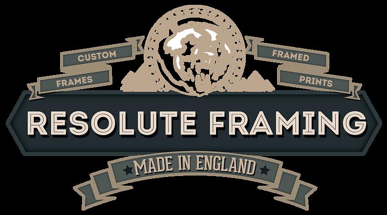 Resolute Framing main logo custom frames framed prints
