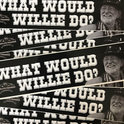 Bumper Sticker (Willie)