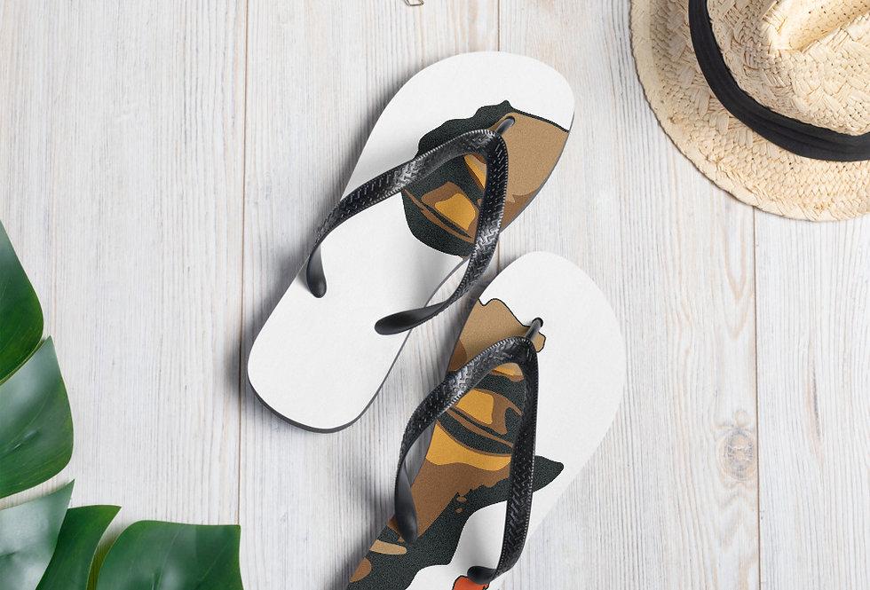 Mini Afrika Flip-Flops