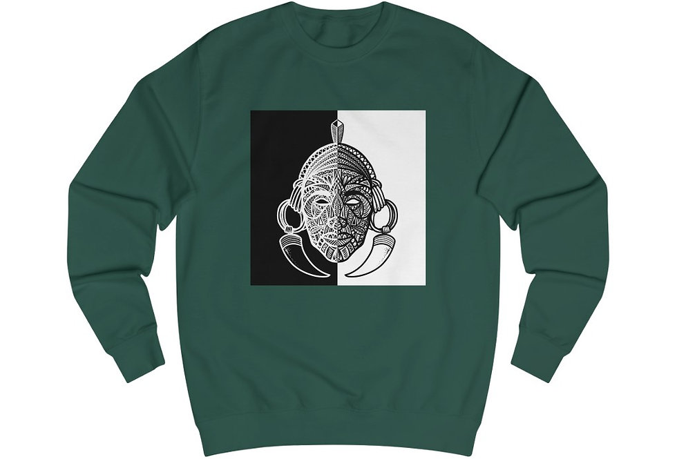 Tribal Warrior Sweatshirt #2