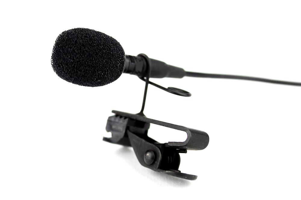 lavalier (lapel) mic