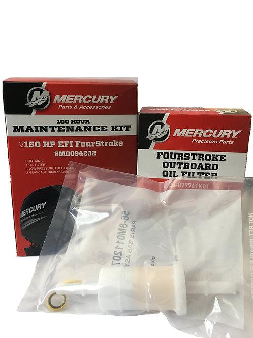 150 HP EFI 4-Stroke --- 100 Hour Maintenance Kit