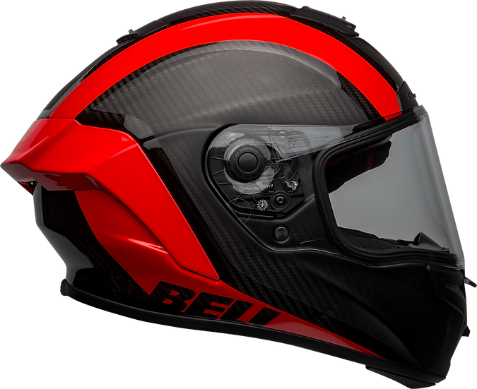BELL RACESTAR CARBON FLEX DLX 2021- קסדת בל רייס-סטאר קרבון בטכנולוגיית