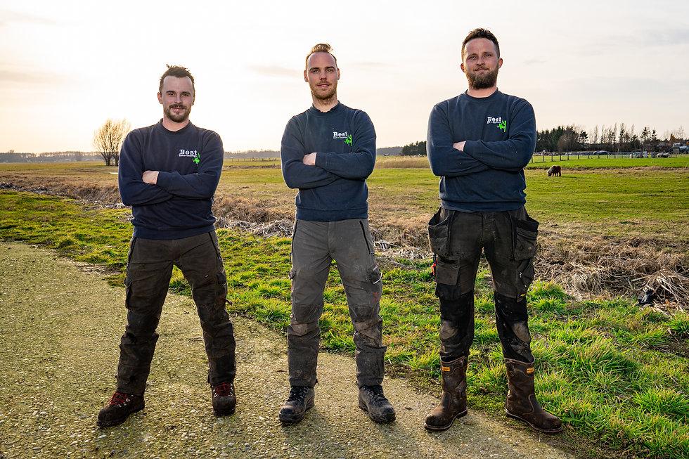 Het team van Best Boom & Tuinverzorging