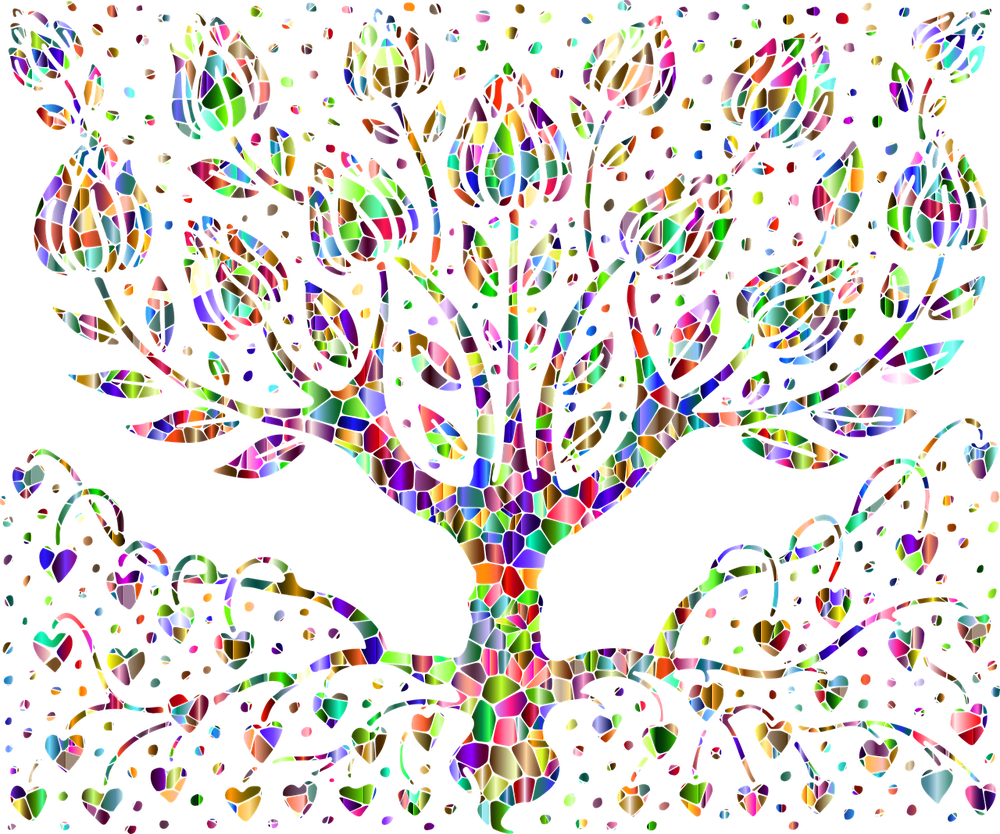生命 樹 命 カラフル 呼吸