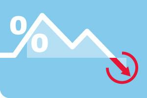 Chute brutale des taux d'intérêt : oiseau de mauvais augure ?