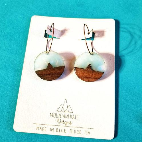 Mountain Dangle Earrings