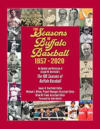Seasons of Buffalo Baseball Front Cover.