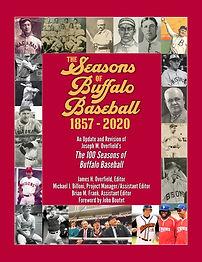 Seasons of Buffalo Baseball Front Cover.