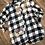Thumbnail: Long Sleeve Plaid Chicken Shirt