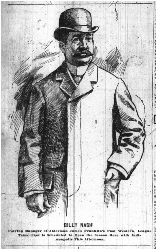 Buffalo Manager Billy Nash. Buffalo Times, May 8, 1899.