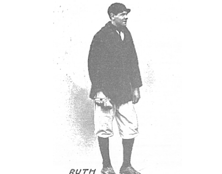Babe Ruth Made His Professional Debut Against the Bisons