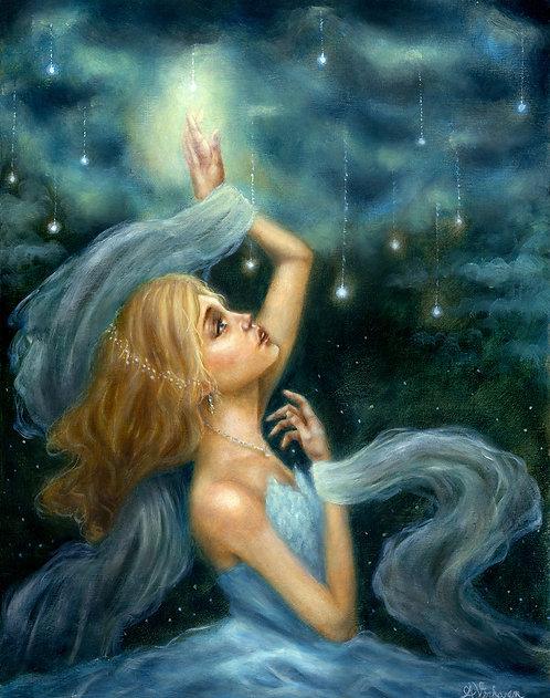 Falling Stars - Original Oil Painting