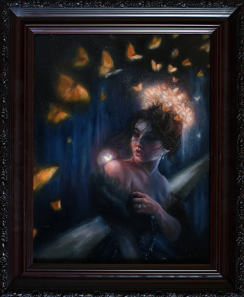 The Crowning of Titania - Original Oil Painting