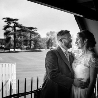 Overlooking the cricket green at Eversholt Hall makes the perfect photo-op!