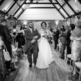 Our main hall is also suitable for ceremonies and can be easily transformed from day to night!