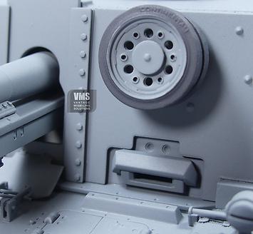 panzer III 15 cm SIG 33 front