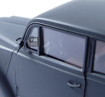 Clear plastic model window