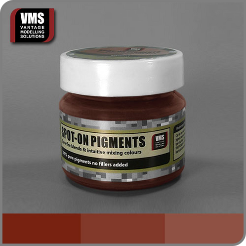 Spot-On pigment No. 10b Primer Red RAL 3009 Dark