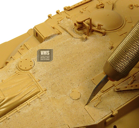 IFAGGREGATE GETS INTO PANEL LINES USE A BLADE TO CORRECT