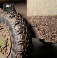 CREATE HEAVY SPATTER ON YOUR MODEL OF TANK OR OTHER AFV