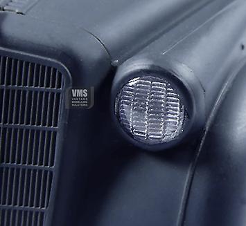clear plastic model car headlight lens