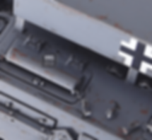 chipping panzer gray tank