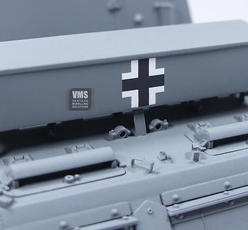 panzer III 15 cm SIG 33 back