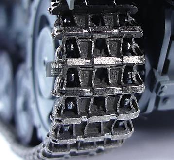 Friulmodel metal track burnished