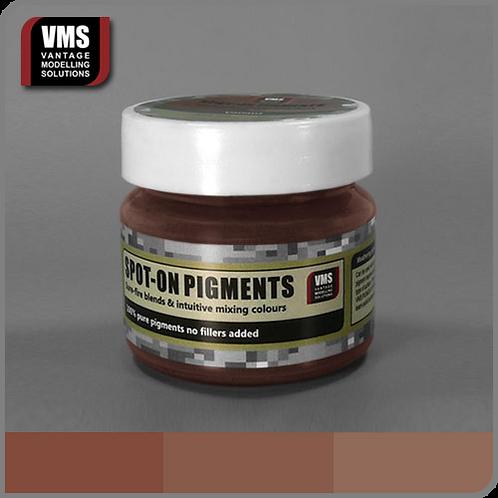 Spot-On pigment No. 07b Dark Iron Oxide Old Rust Medium Tone