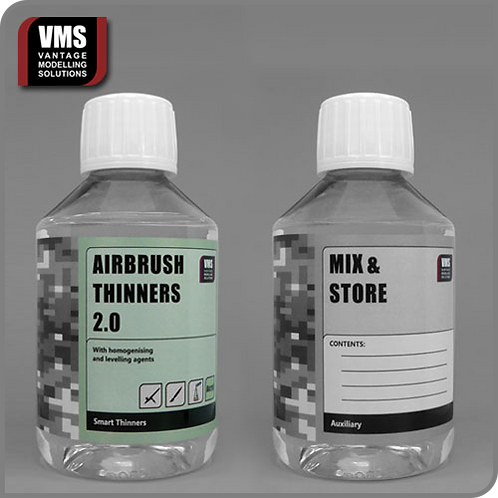Airbrush Thinners 2.0 Acrylic 200 ml concentrate (effective 500 ml)