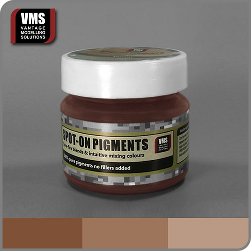 Spot-On pigment No. 16c Mixing Ochres Red