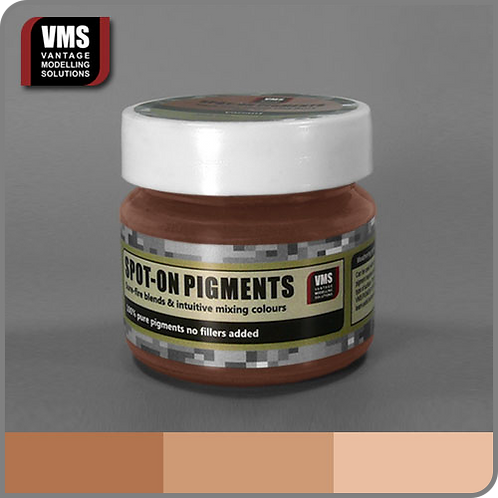 Spot-On pigment No. 05c Red Earth Pink Tone