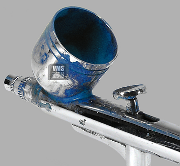 Cleaning your airbrush with cost effective enamel (solvent based) airbrush cleaner
