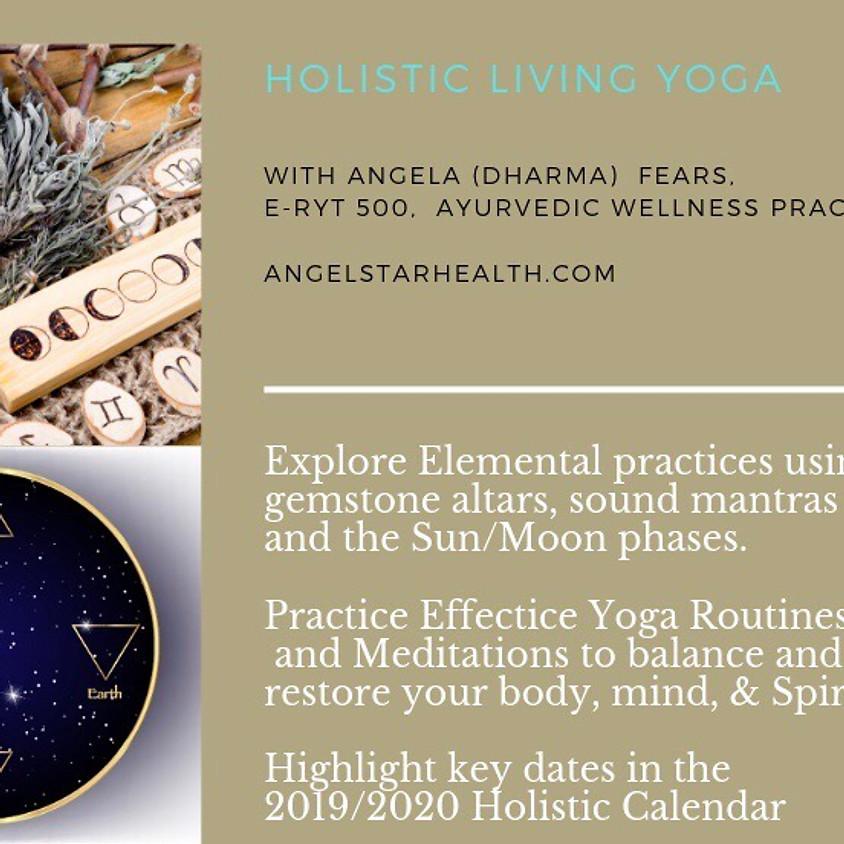Holistic living yoga 4:30 pm call