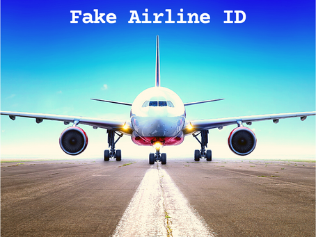 Fake Airline ID